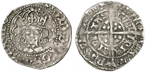 Henry VII Late Portrait Issues S.6455 - Groat
