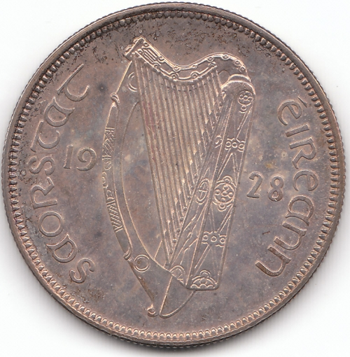 1928 Proof Halfcrown