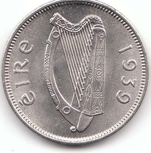 1939 6d Gem Unc