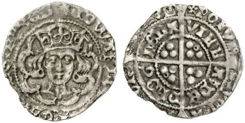 Edward IV Light Cross & Pellets Drogheda Groat