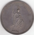 Anne Union England & Wales 1707 Silver Medal