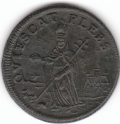Exceptional St. Patrick's Farthing