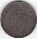 1813 British Guiana Ireland Mule Penny Variety