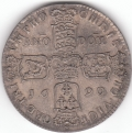1690  Irish Silver Gunmoney Crown Superb Proof