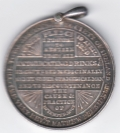 Silver Cork Abstinence Medal