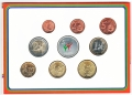 2003 Ireland Special Olympics 9 Piece Coin Set
