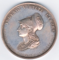 Drogheda Erasmus Smith School Silver Award Medal 1871