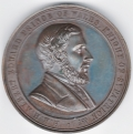 Prince of Wales Visit to Ireland 1868 Bronze Medal