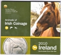 2010 Ireland Official Annual 8 Piece Coin Set