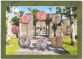 2005 Ireland Official Annual 8 Piece Coin Set
