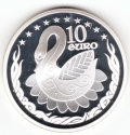2004 Swan 10 Euro Silver Proof