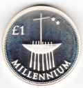 2000 Millennium Punt Silver Proof