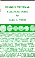 Ralph S. Walker, Reading Medieval European Coins