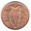 Near Gem 1946 Half Penny