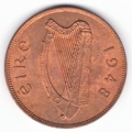 Near Gem Red and Brown Unc 1948 Penny