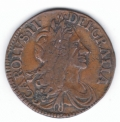 1680 Halfpenny of 17 Strings
