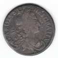 1681 Halfpenny Large Letters 11.5  String ex Dudley Westrop