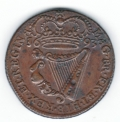 Superb 1693 Halfpenny of 13 Strings Dudley Westrop's Coin
