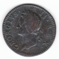 Circulated 1750 Halfpenny