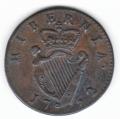 Splendid 1752 Halfpenny
