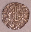 John 2nd DOMinus Coinage Halfpenny Moneyer Nicolas