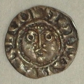 John 2nd DOMinus Coinage Halfpenny Moneyer Nicolas