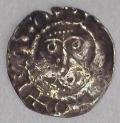 John 2nd DOMinus Coinage Halfpenny Moneyer Adam