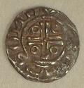 John 2nd DOMinus Coinage Half Penny Moneyer Tomas