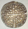 Edward IV Light Cross & Pellets 4d Groat Waterford