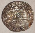 Henry VIII First Harp Issue Groat  of Henry + Jane Seymour