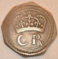 Siver Ormonde 6 Pence, no pellet