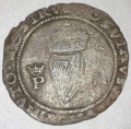 Philip and Mary base silver groat dated 1557