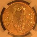 Rare Mint State 1985 20 pence KM 25 Pattern Date