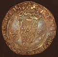 Henry the 8th Irish Groat w Jane Seymour