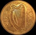1985 Rare Pattern 20 Pence