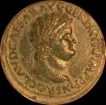 Nero Sestertius ex Sir Arthur Evans