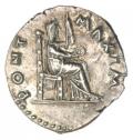 Vitellius Denarius Extremely Fine