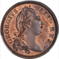 Near Gem Proof 1775 halfpenny