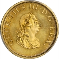 Gem Proof 1805 Gilt Halfpenny