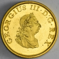 Near Gem Proof 1805 Gilt Halfpenny