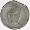 Crude 1822 Contemporary Blacksmith Counterfeit Penny
