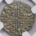 Henry III Late Silver 1d w Crown of Pellets Davi
