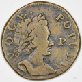 Voce Populi Halfpenny P before Face