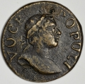 1760 Voce Populi Farthing w Large Letters