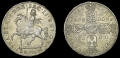 Silver Gunmoney Crown 1690 Lettered Edge