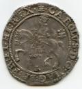 England Charles I 1645 Bristol mint Halfcrown ex Lockett,     Bull Plate Coin