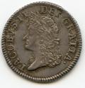 Silver Small Gunmoney Shilling May 1690