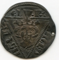Ed I early issue of 2nd Coinage Silver Penny tiny hole