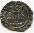 Ed IV heavy rose on cross and pellets silver penny of Drogheda