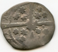 Ed IV Suns and Roses Silver Penny w Rose on Cross Burns Du.S-4 Large Obv Symbols